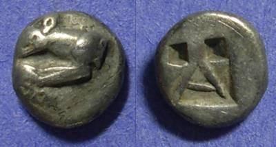 Ancient Coins - Argos  Circa 450 BC Hemidrachm