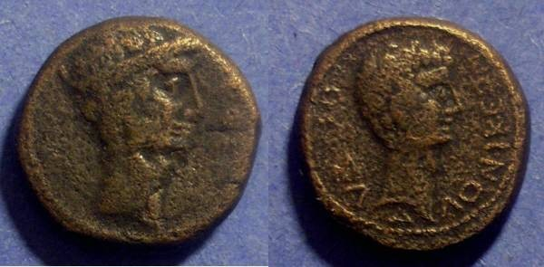 Ancient Coins - Thessalonika, Macedonia 27BC - 14AD, AE21