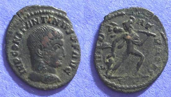 "Ancient Coins - Constantine 307-337AE 1/2 Follis of Rome - ""FUNDAT PACIS"""
