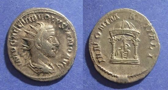Ancient Coins - Roman Empire, Volusian 251-253, Antoninianus
