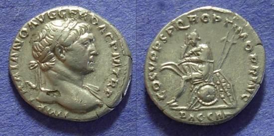Ancient Coins - Trajan 98-117AD Denarius - Dacia reverse