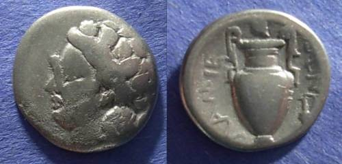 Ancient Coins - Lamia, Thessaly 400-344 BC, Hemidrachm