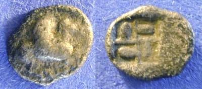 Ancient Coins - Corinth - Obol 525-500BC