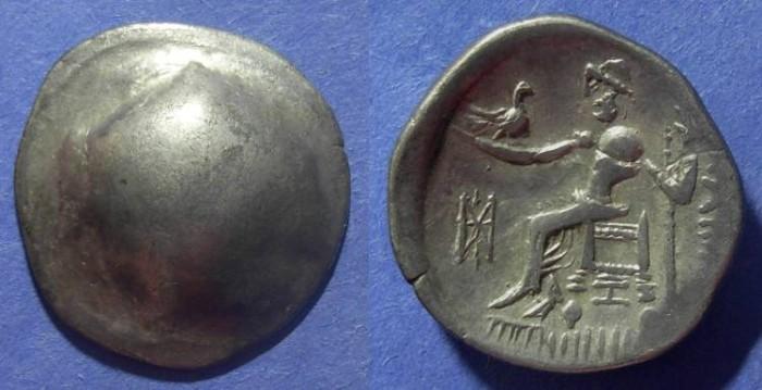 Ancient Coins - Celtic, Danube region Circa 200 BC, Tetradrachm