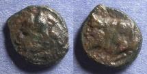 Ancient Coins - Sicily, Agyrion 344-336 BC, AE14
