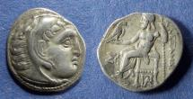 Ancient Coins - Kingdom of Macedonia, Alexander III 336-323 BC, Drachm