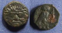 Ancient Coins - Sicily, Kamarina 420-410 BC, Tetras