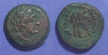 Ancient Coins - Egypt, Ptolemy III 246-221 BC, AE15
