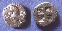 Ancient Coins - Mysia, Lampsakos Circa 475 BC, Diobol