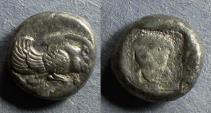 Ancient Coins - Ionia, Samos 510-500 BC, Drachm