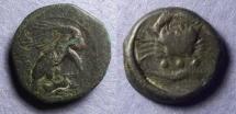 Ancient Coins - Sicily, Akragas 425-406 BC, Tetras