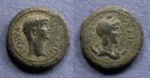 Ancient Coins - Lydia, Nysa, Nero 54-68, AE17