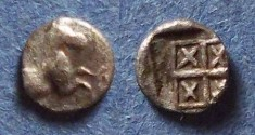 Ancient Coins - Thraco-Macedonian, Uncertain Circa 400 BC, Tetartemorion?