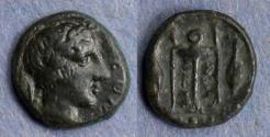 Ancient Coins - Sicily, Leontini 405-2, Tetras