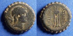 Ancient Coins - Seleucid Kingdom, Demetrios I 162-150 BC, Bronze AE26