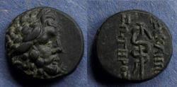 Ancient Coins - Mysia, Pergamon Circa 130 BC, AE16