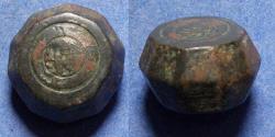 World Coins - Islamic, Weight 7th-12th Centuries AD, Bronze 10 Dirhem weight