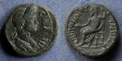 Ancient Coins - Lydia, Julia-Gordos, Plotina 105-123, AE16