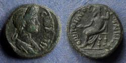 Ancient Coins - Lydia, Julia-Gordos, Plotina 105-123, AE16