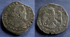 World Coins - Kingdom of Sicily, Philip IV Struck 1642-8, 4 Tari