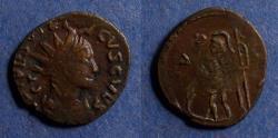 Ancient Coins - Roman Empire, Tetricus II - Imitative issue Circa 280, Antoninianus