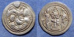 Ancient Coins - Sassanian Kingdom, Varhran V 420-438, Silver Drachm