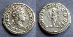 Ancient Coins - Roman Empire, Geta (as Augustus) 209-212, Denarius