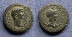 Ancient Coins - Lydia, Nysa, Nero 54-68, AE17