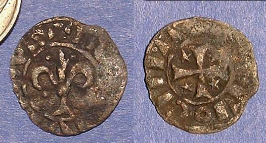 Ancient Coins - Crusader Antioch -  Bohemond IV 1201-16 Pougeoise  Billon Oddity!!??