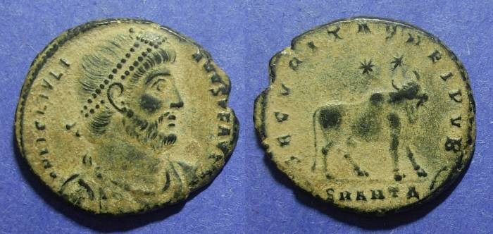 Ancient Coins - Roman Empire, Julian II 361-3, AE1