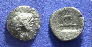 Ancient Coins - Kolophon Ionia – Circa 430 BC Tritemorion?