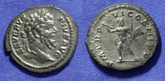 Ancient Coins - Roman Empire – Septimius Severus 193-211AD – Denarius