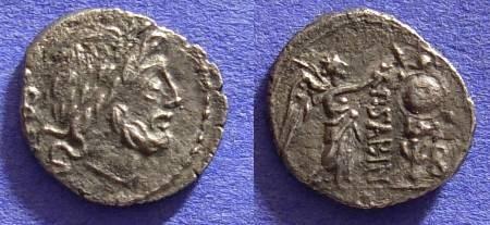 Ancient Coins - Roman Republic - Quinarius 99 BC - Vettia 1