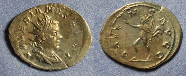 Ancient Coins - Roman Empire, Valerian 253-260, Antoninianus