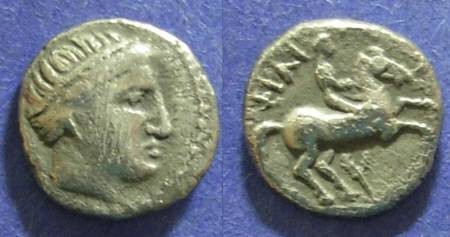Ancient Coins - Macedonian Kingdom, Philip II 359-336 BC, 1/5 Tetradrachm