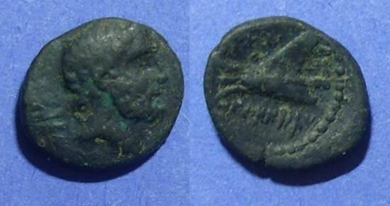 Ancient Coins - Arados, Phoenicia Circa 180 BC, AE14