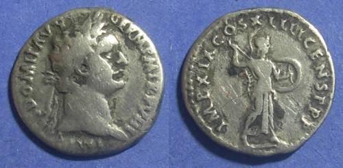 Ancient Coins - Roman Empire, Domitian 81-96 AD, Denarius
