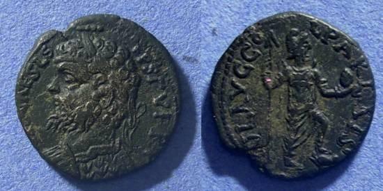 Ancient Coins - Parlais Pisidia, Septimius Severus 193-211, AE20