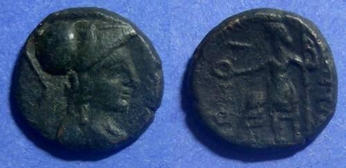 Ancient Coins - Samothrace, Island off Thrace Circa 200 BC, AE17