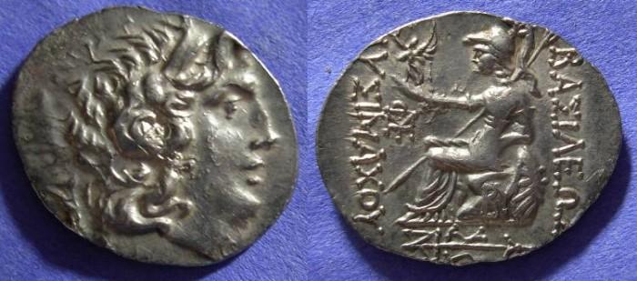 Ancient Coins - Lysimachos 321-281 BC - Tetradrachm (Postumous Circa 150 BC)