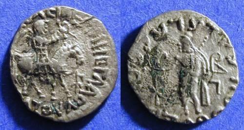Ancient Coins - Indo-Schythian Azes I 5-40AD Drachm