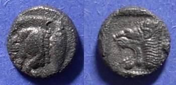 Ancient Coins - Kyzicus, Mysia 480-450 BC, Trihemiobol