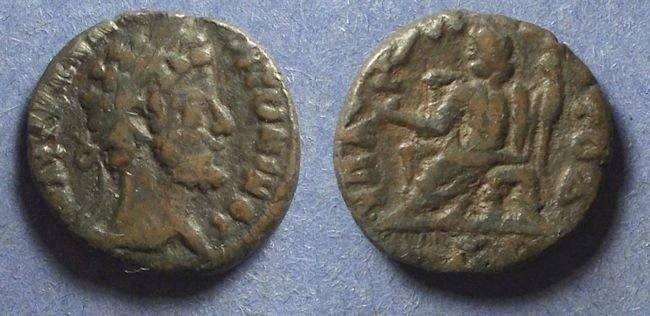 Ancient Coins - Roman Egypt, Commodus 177-192, Tetradrachm