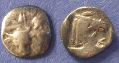 Ancient Coins - Larissa, Thessaly Circa 460 BC, Obol