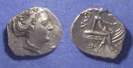 Ancient Coins - Histiaea, Euboaea Circa 200 BC, Tetrobol