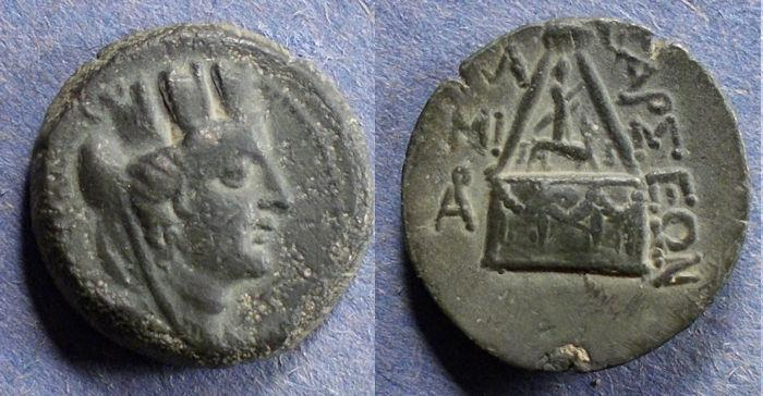 Ancient Coins - Cilicia, Tarsus 165-80 BC, AE21