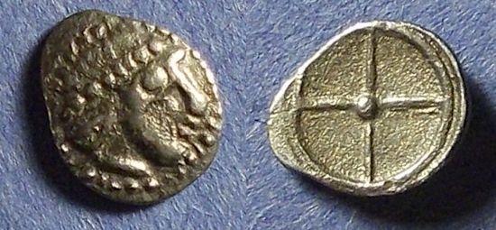 Ancient Coins - Sicily, Syracuse Circa 470 BC, Litra