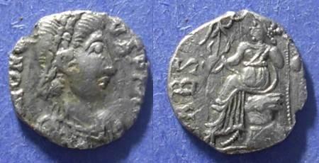 Ancient Coins - Vandals, Name of Honorius Circa 420, Siliqua