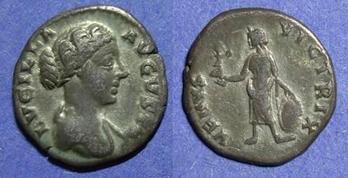 Ancient Coins - Roman Empire, Lucilla d 182, Denarius