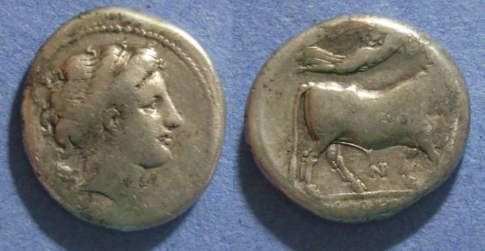 Ancient Coins - Neapolis, Campania 300-275 BC, Nomos
